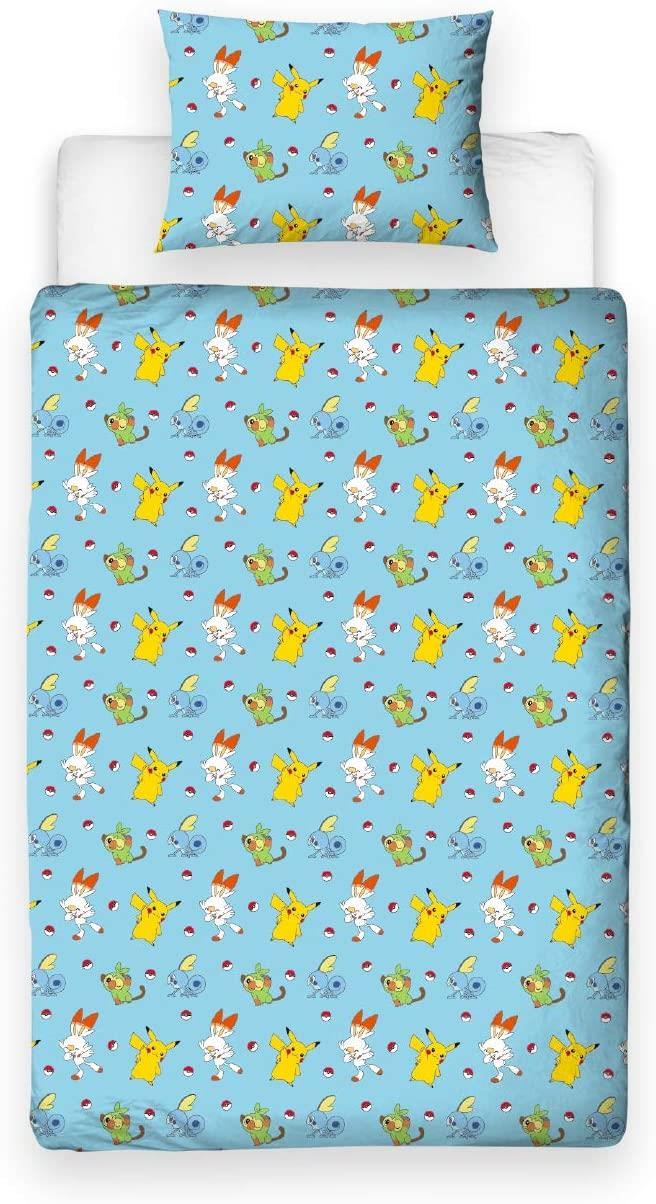 Official-Pokemon-Licensed-Duvet-Covers-Single-Double-Pikachu-Bedding-Gaming thumbnail 16