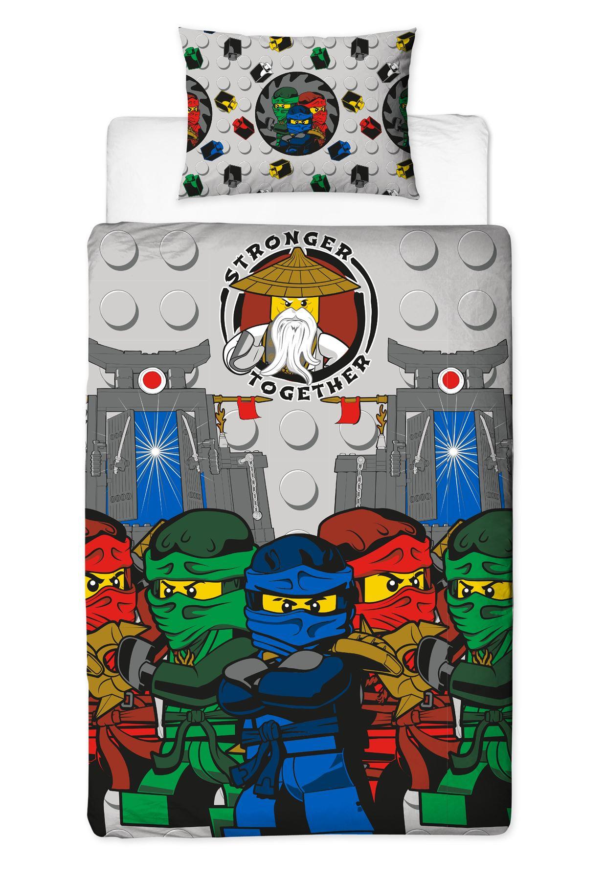 Official-Licensed-Lego-Duvet-Bedding-Ninjago-Batman-Star-Wars-Jurassic thumbnail 29