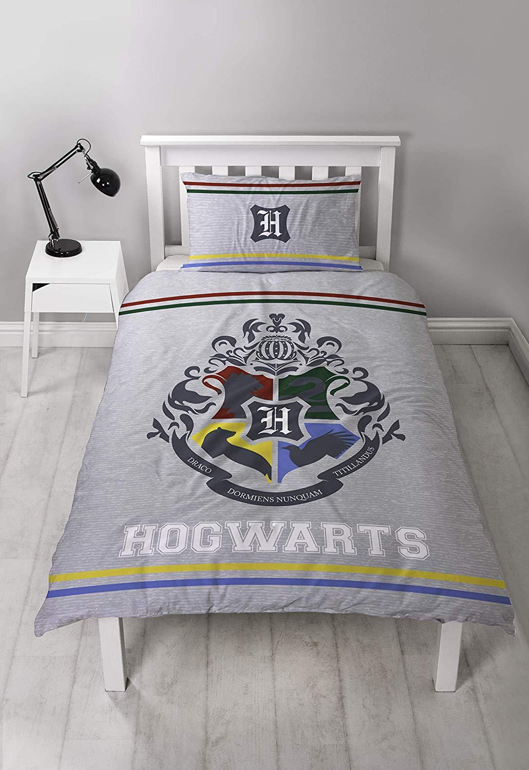 Official-Harry-Potter-Licensed-Duvet-Covers-Single-Double-Muggles-Hogwarts-Charm thumbnail 6