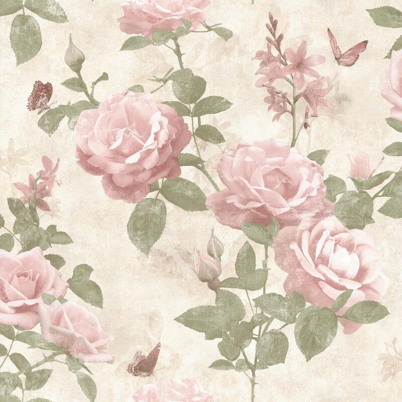 Stunning-Assorted-Floral-Roses-Leaves-10m-Wallpaper thumbnail 42