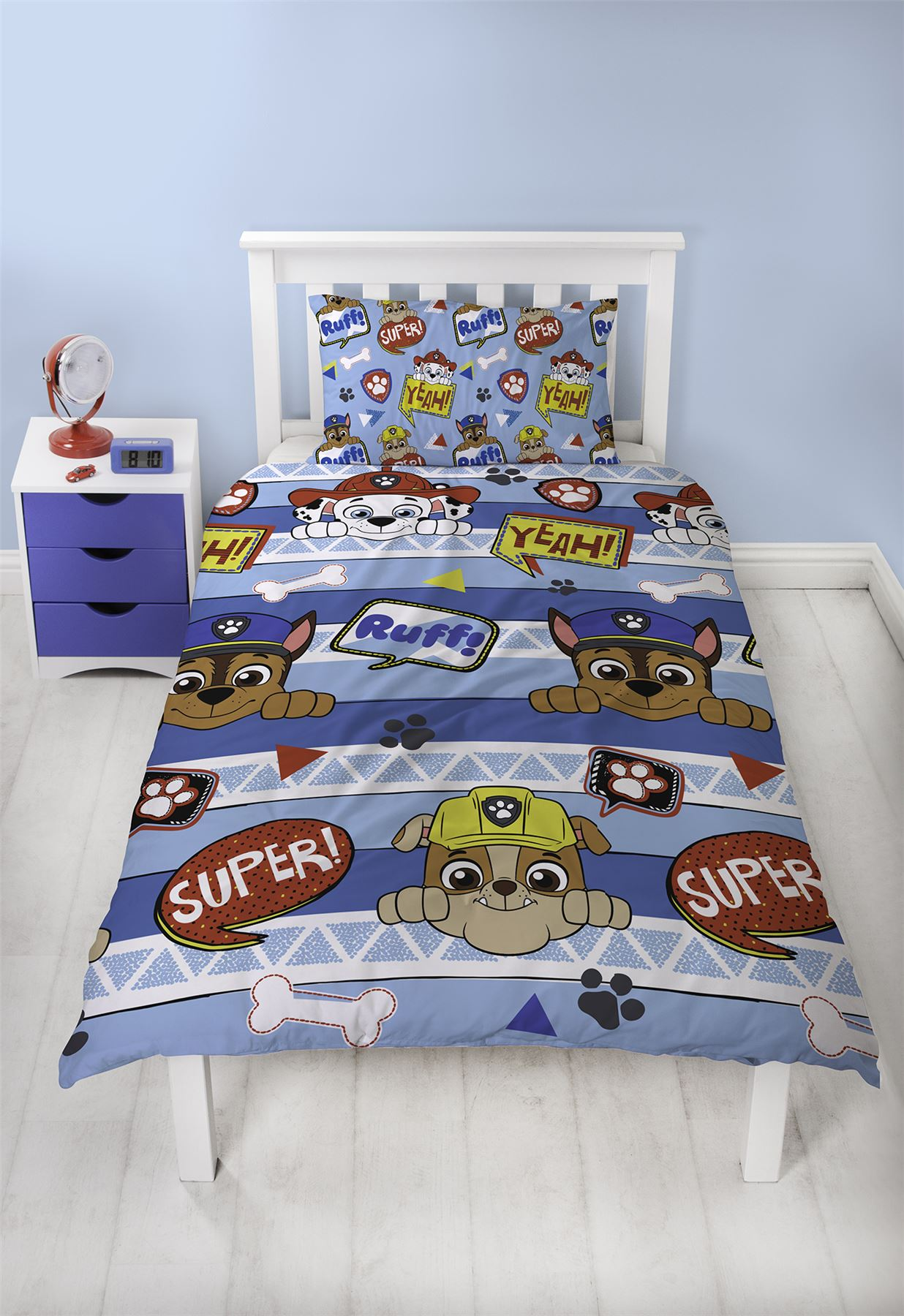 Official-Paw-Patrol-Licensed-Duvet-Covers-Single-Double-Chase-Skye-Marshall thumbnail 29