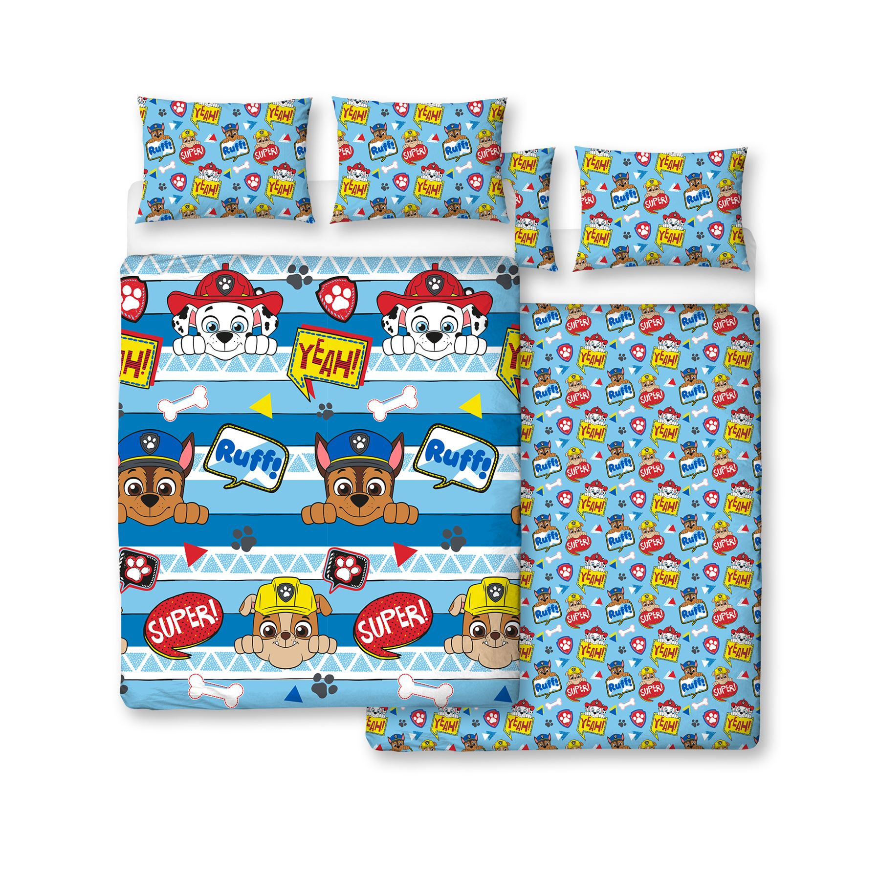 Official-Paw-Patrol-Licensed-Duvet-Covers-Single-Double-Chase-Skye-Marshall thumbnail 27