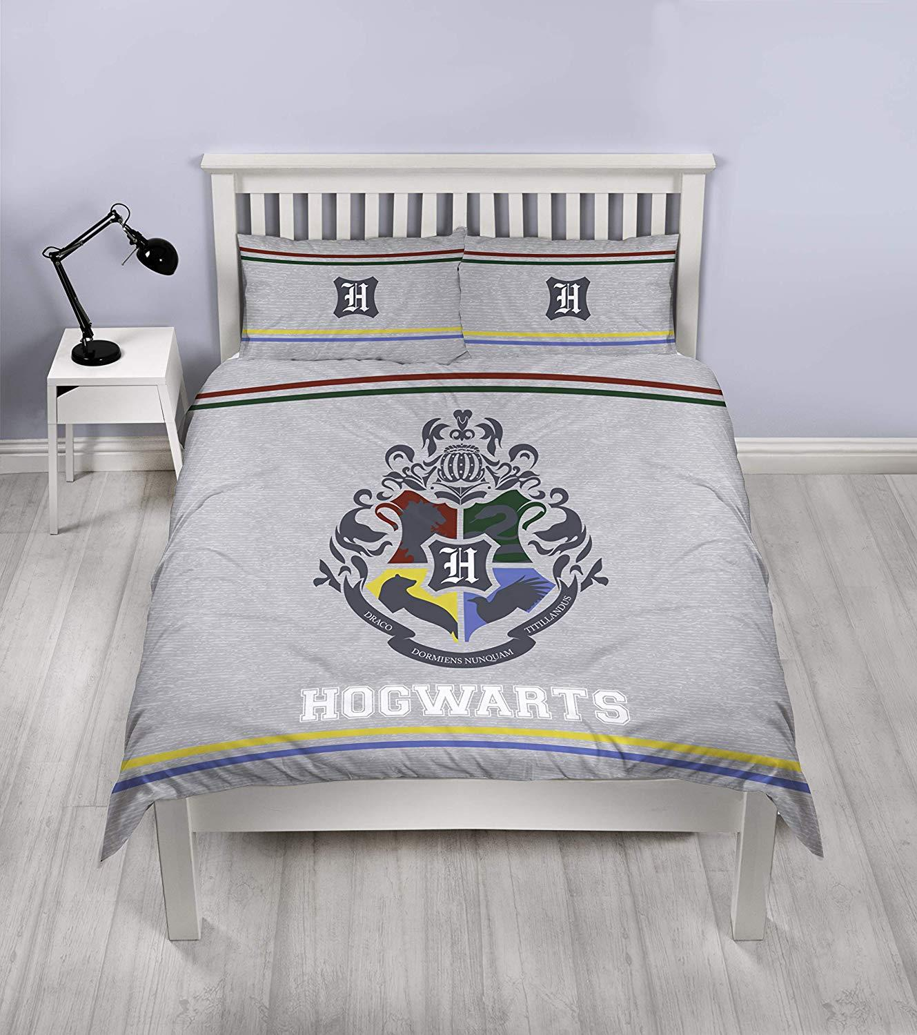Official-Harry-Potter-Licensed-Duvet-Covers-Single-Double-Muggles-Hogwarts-Charm thumbnail 3