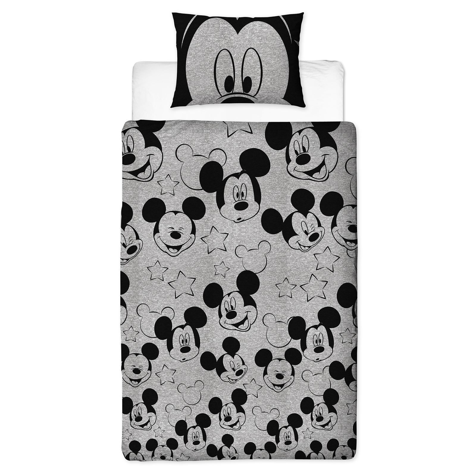 Disney-Mickey-Minnie-mouse-fundas-nordicas-SINGLE-doble-Ropa-De-Cama-Reversible miniatura 9