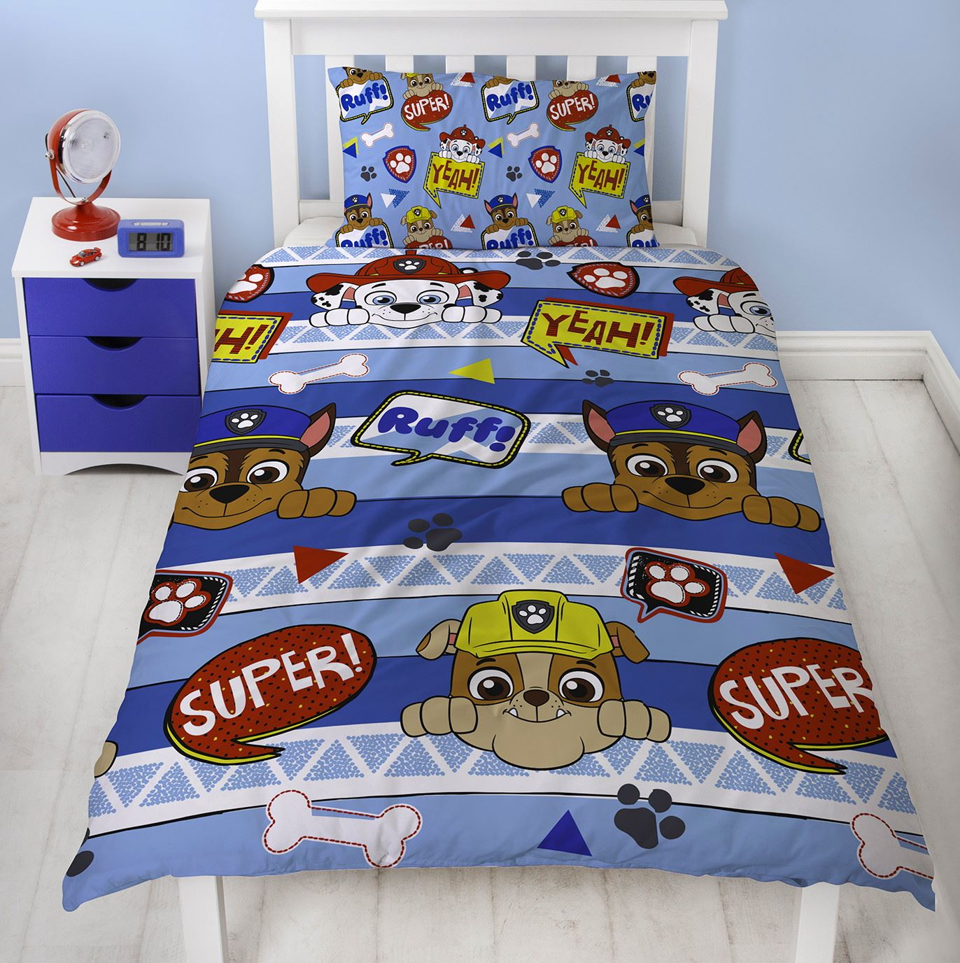 Official-Paw-Patrol-Licensed-Duvet-Covers-Single-Double-Chase-Skye-Marshall thumbnail 28