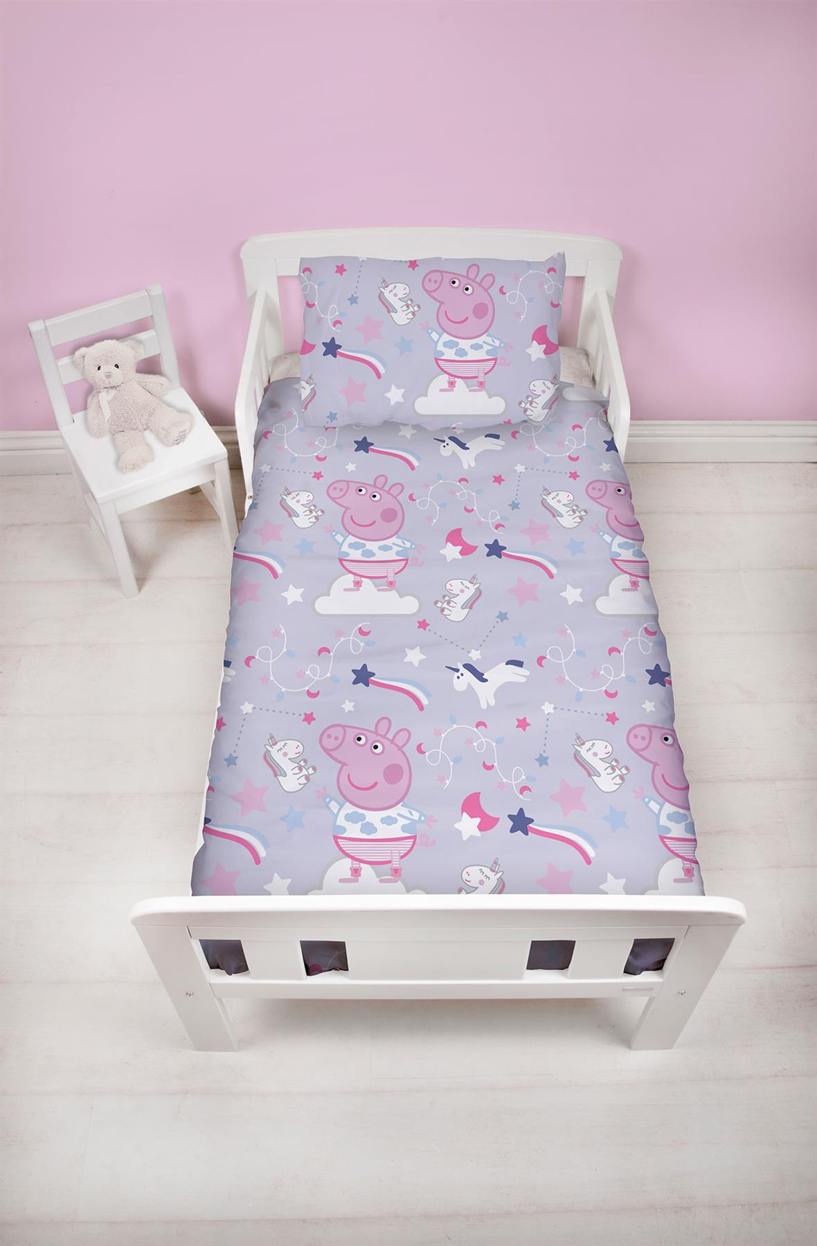 Official-Peppa-Pig-George-Duvet-Covers-Single-Double-Reversible-Bedding thumbnail 38