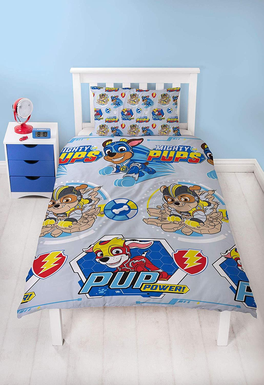 Official-Paw-Patrol-Licensed-Duvet-Covers-Single-Double-Chase-Skye-Marshall thumbnail 43