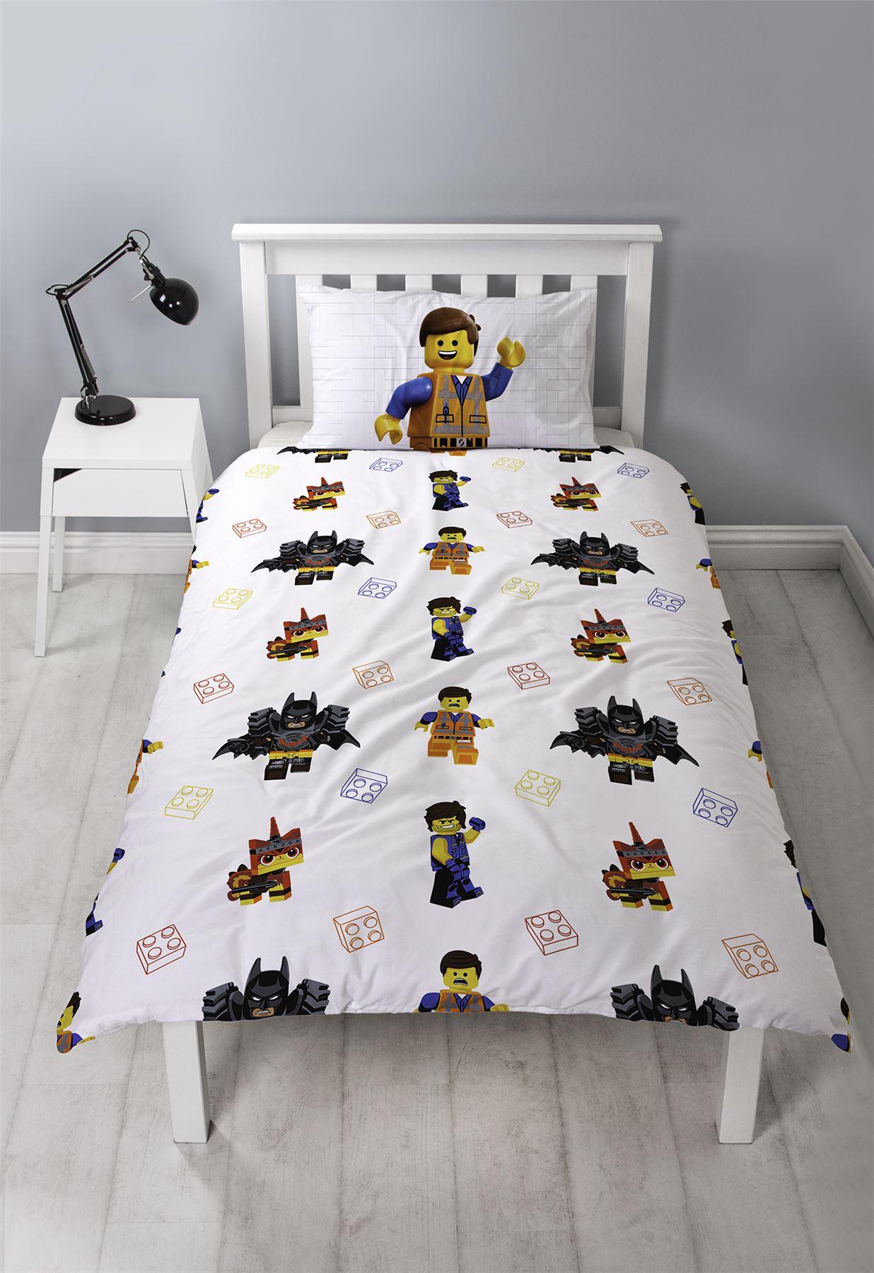 Official-Licensed-Lego-Duvet-Bedding-Ninjago-Batman-Star-Wars-Jurassic thumbnail 23