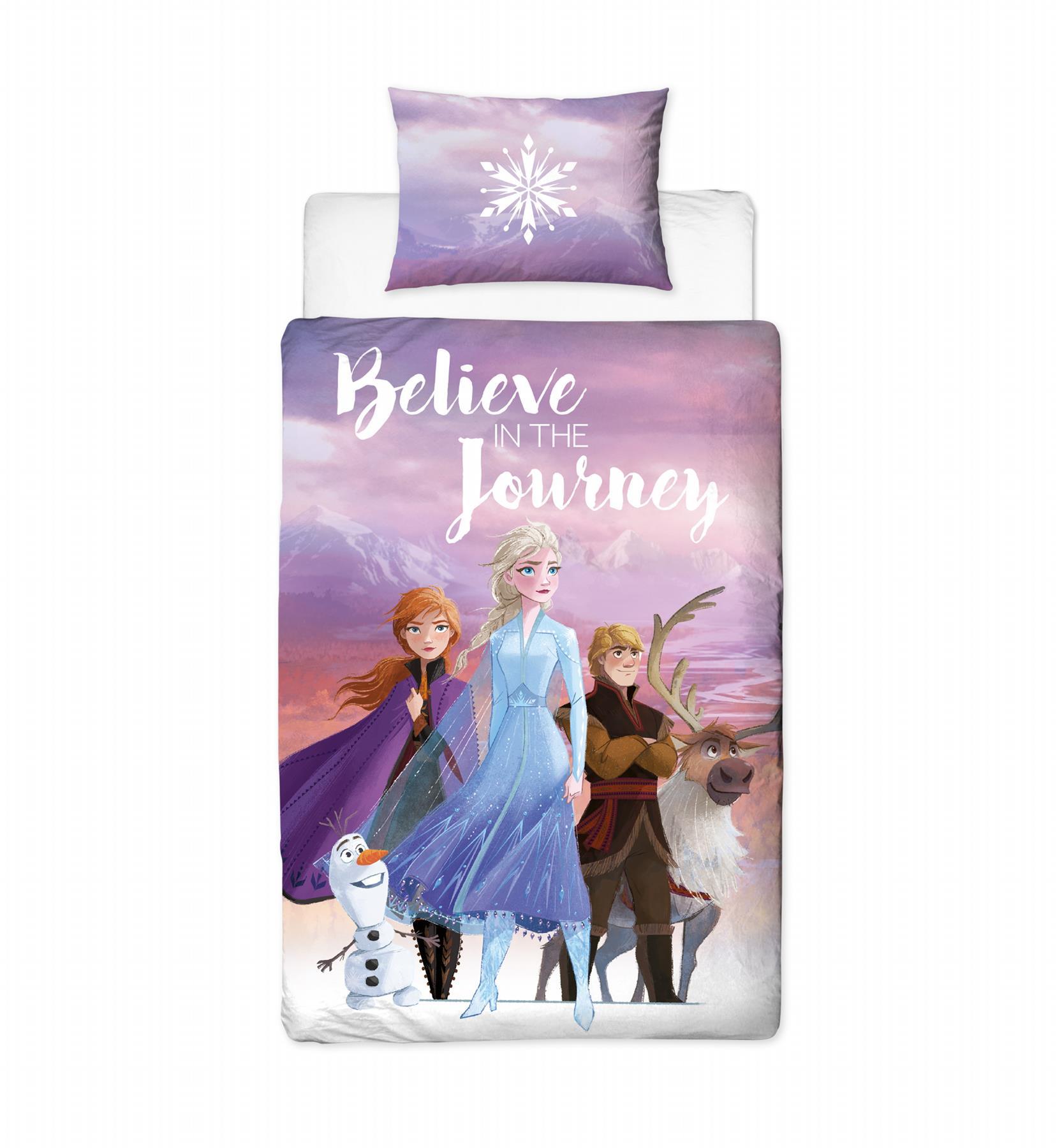 Official-Frozen-2-Duvet-Covers-Single-Double-Reversible-Bedding-Elsa-Anna-Olaf thumbnail 16