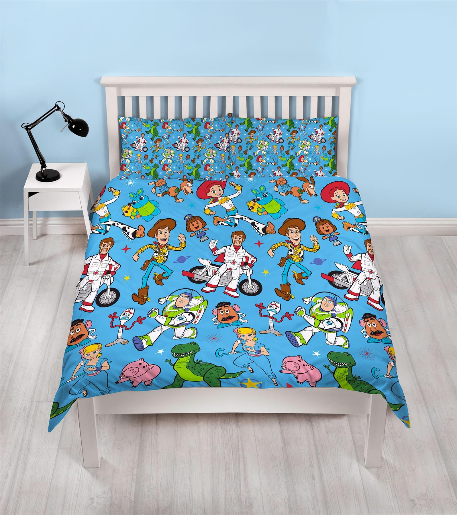 Official-Toy-Story-4-Duvet-Covers-Single-Double-Junior-Bedding-Buzz-Woody-Forky thumbnail 15