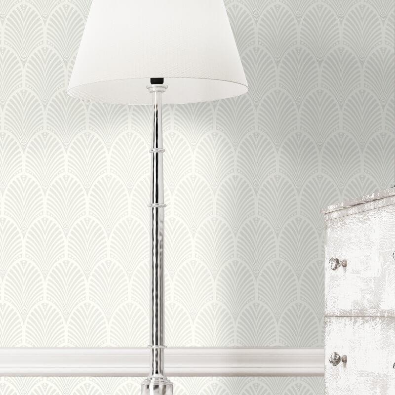 Geometric-Wallpaper-Metallic-Smooth-Textured-Apex-Triangles-Trellis-Diamonds thumbnail 19