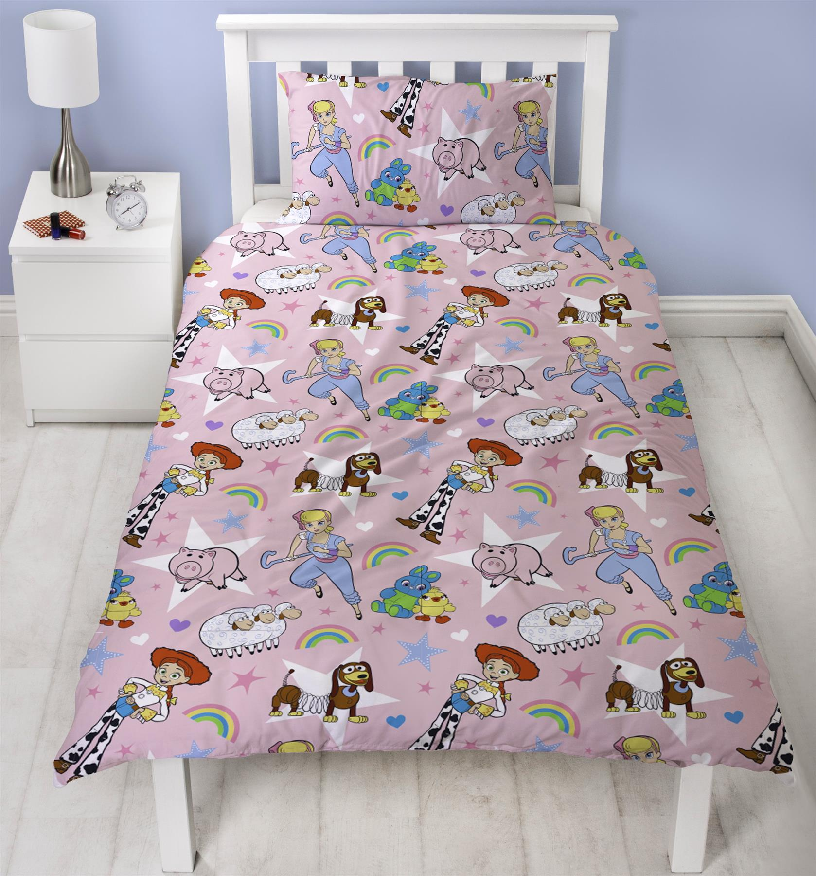 Official-Toy-Story-4-Duvet-Covers-Single-Double-Junior-Bedding-Buzz-Woody-Forky thumbnail 9