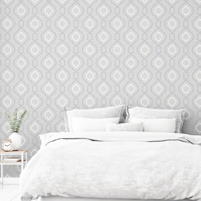 Arthouse-Calico-Range-Trellis-Floral-Dot-Stripe-amp-Plain-Textured-Wallpaper thumbnail 28