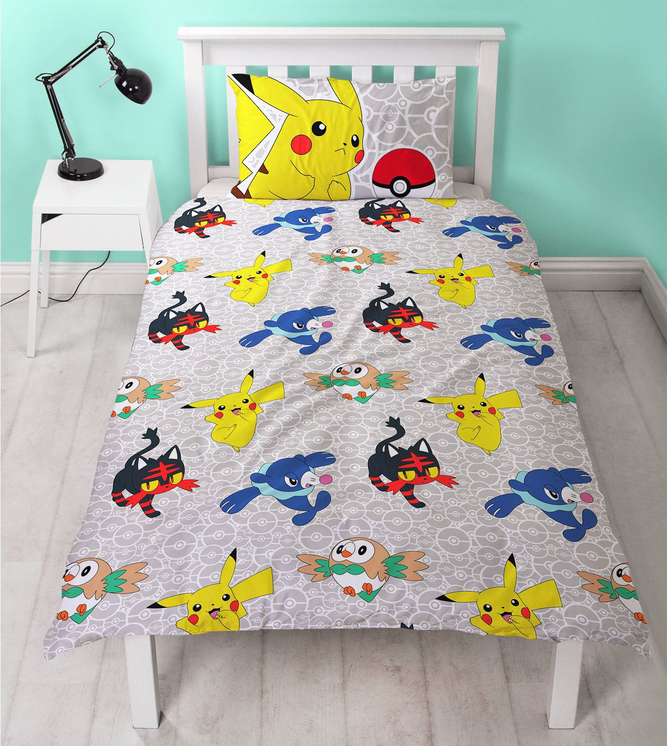 Official-Pokemon-Licensed-Duvet-Covers-Single-Double-Pikachu-Bedding-Gaming thumbnail 14