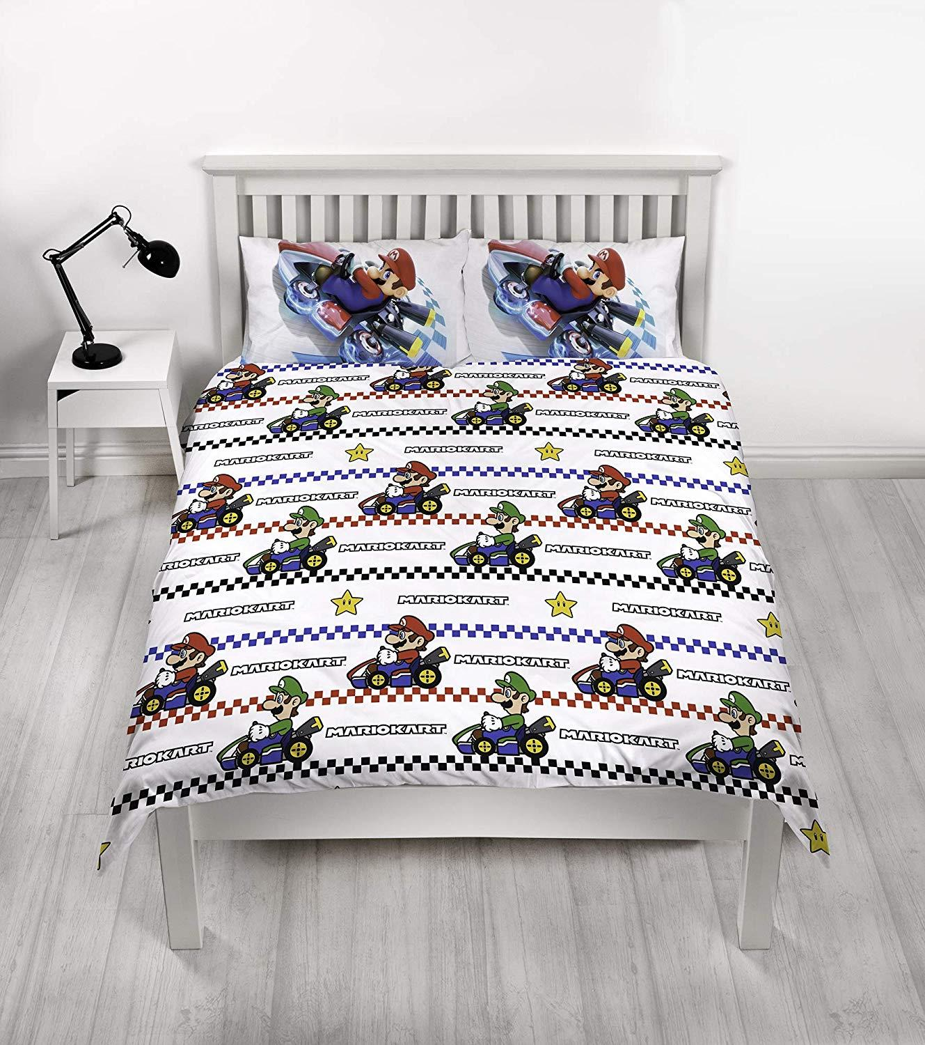 Official-Nintendo-Super-Mario-Licensed-Duvet-Covers-Single-Double-Odyssey-Maker thumbnail 7