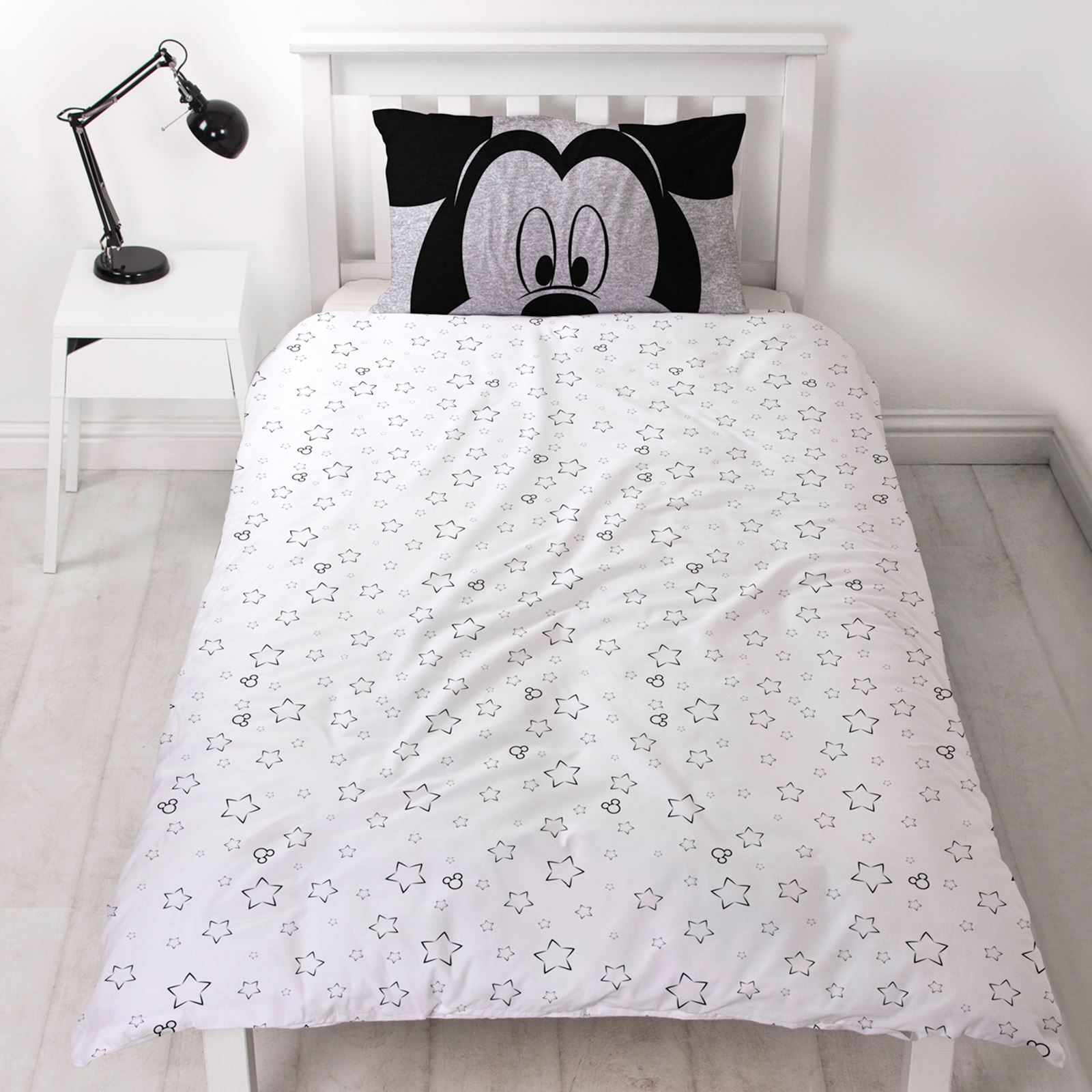 Disney-Mickey-Minnie-mouse-fundas-nordicas-SINGLE-doble-Ropa-De-Cama-Reversible miniatura 8