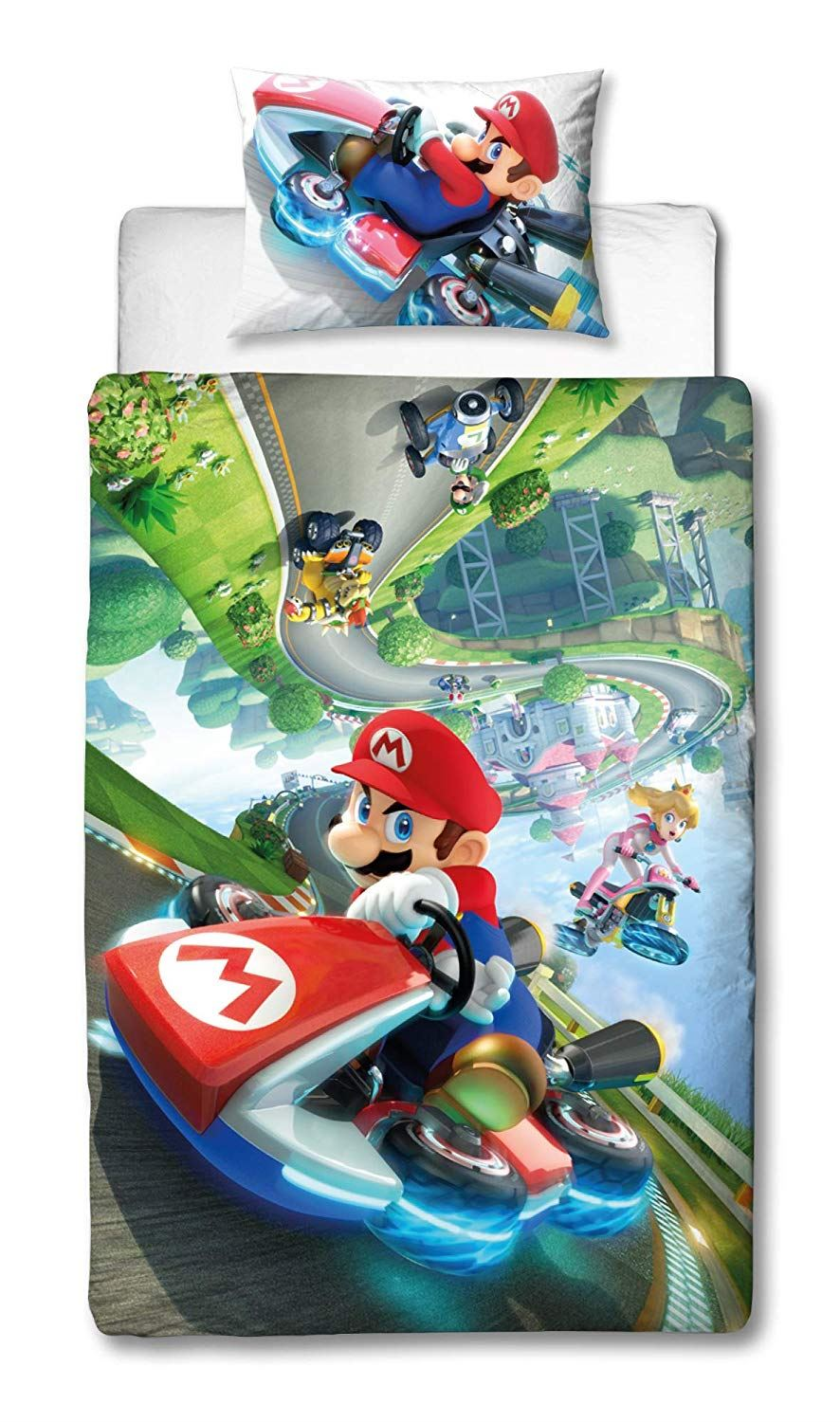 Official-Nintendo-Super-Mario-Licensed-Duvet-Covers-Single-Double-Odyssey-Maker thumbnail 9