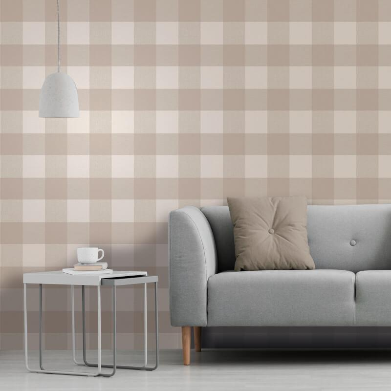 Checked-Tartan-Wallpaper-Textured-Glitter-Country-Check-Modern-Collection thumbnail 21