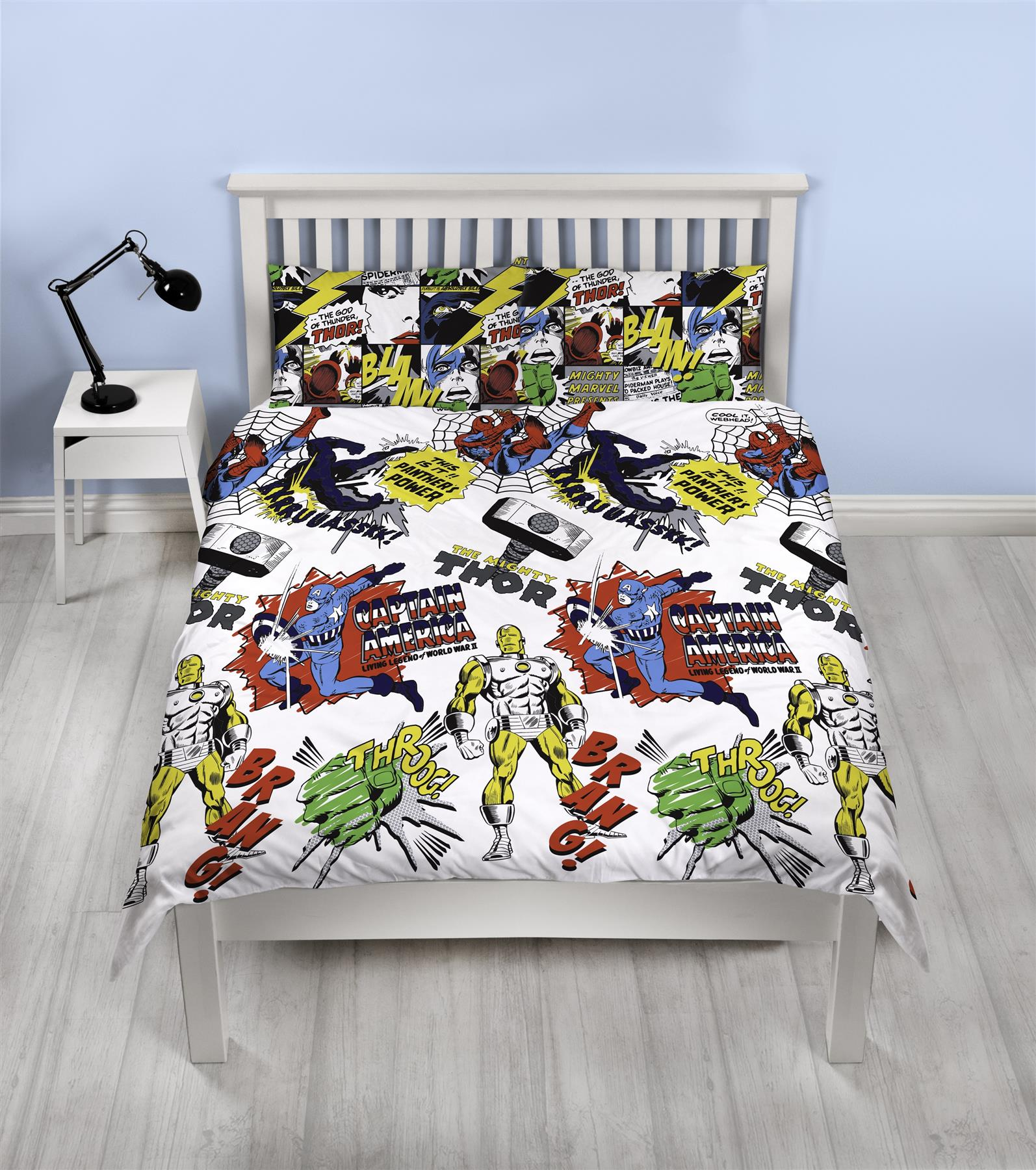 Official-Marvel-Comics-Avengers-Licensed-Duvet-Covers-Single-Double thumbnail 36