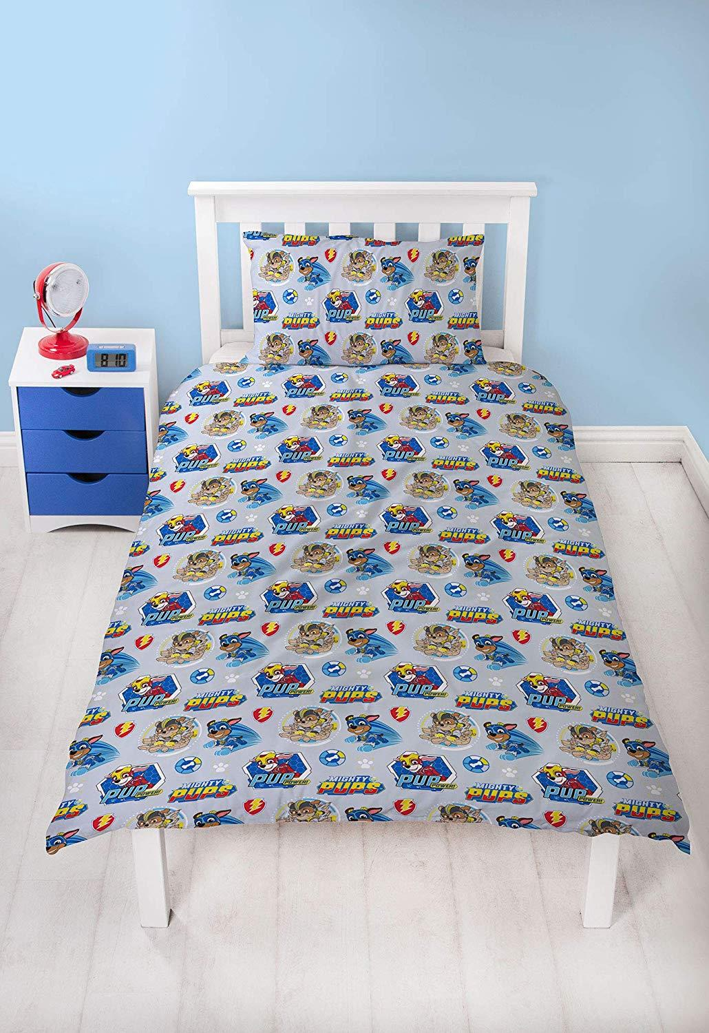 Official-Paw-Patrol-Licensed-Duvet-Covers-Single-Double-Chase-Skye-Marshall thumbnail 44
