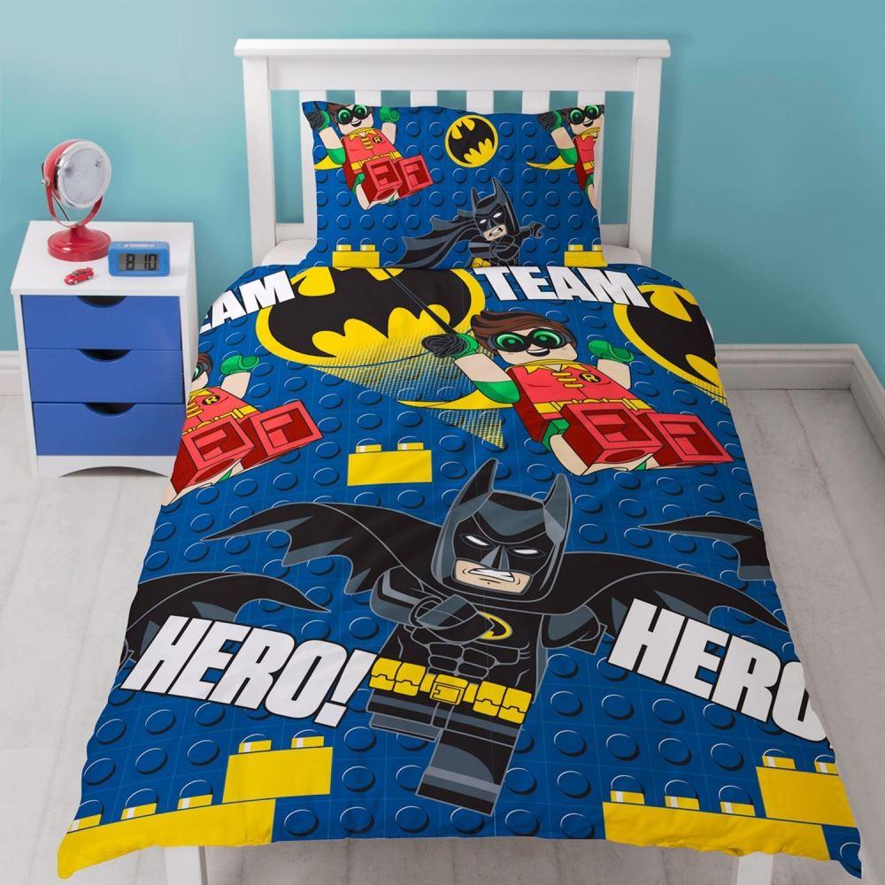Official-Licensed-Lego-Duvet-Bedding-Ninjago-Batman-Star-Wars-Jurassic thumbnail 4