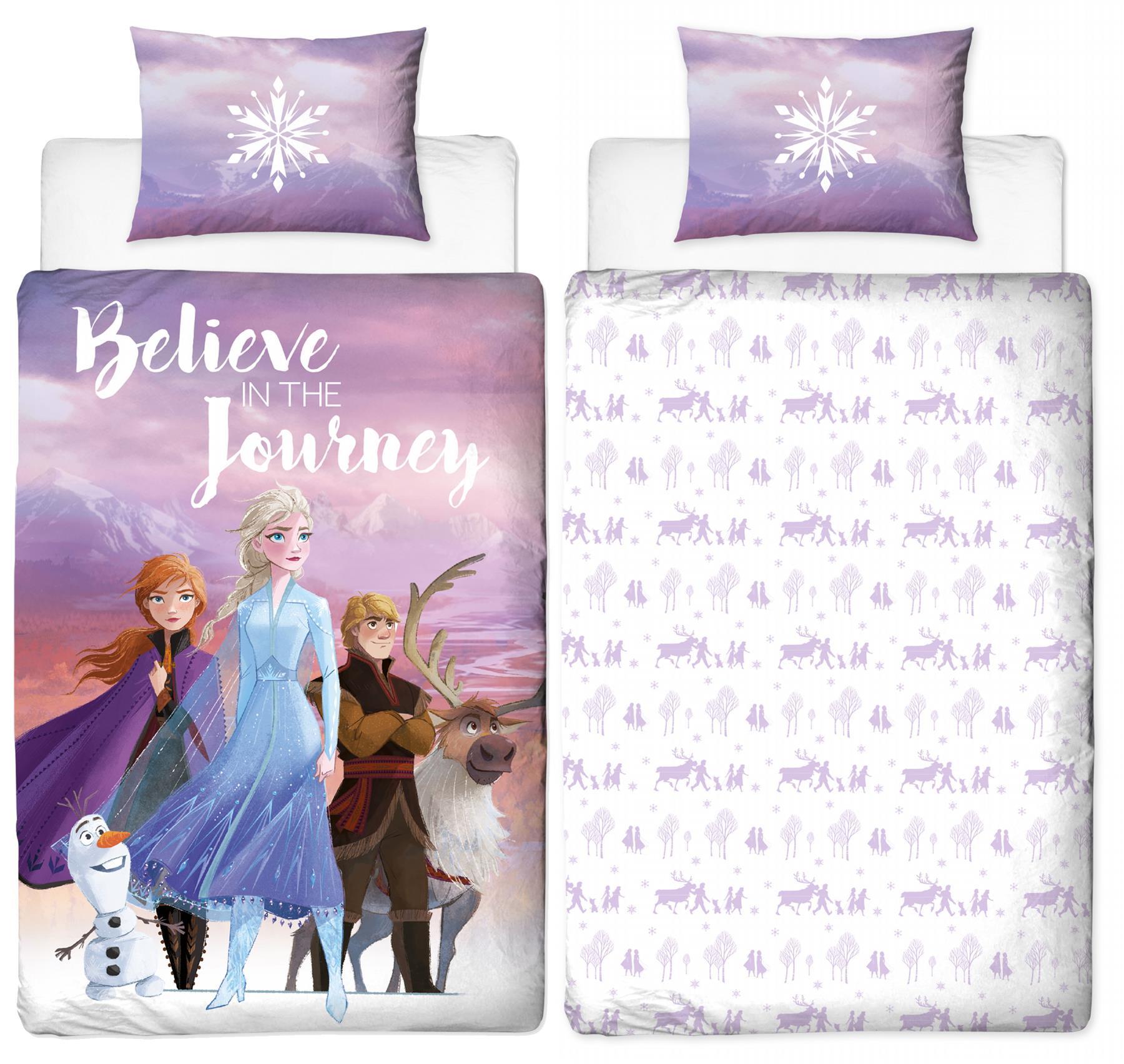 Official-Frozen-2-Duvet-Covers-Single-Double-Reversible-Bedding-Elsa-Anna-Olaf thumbnail 15