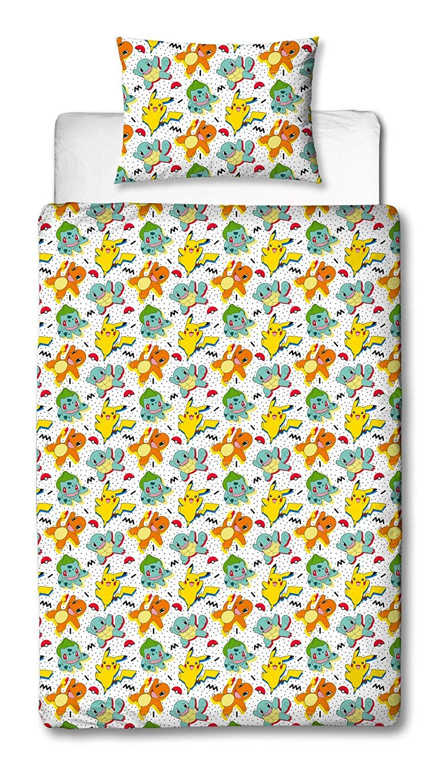 Official-Pokemon-Licensed-Duvet-Covers-Single-Double-Pikachu-Bedding-Gaming thumbnail 33