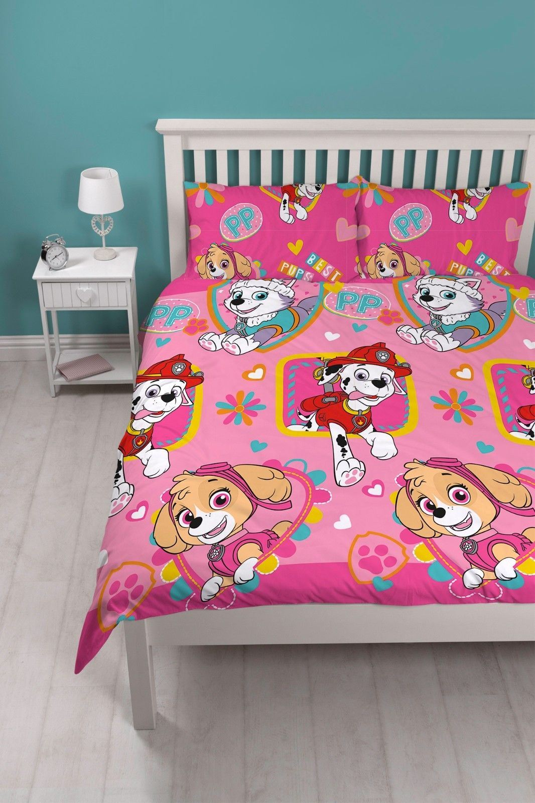 Official-Paw-Patrol-Licensed-Duvet-Covers-Single-Double-Chase-Skye-Marshall thumbnail 16