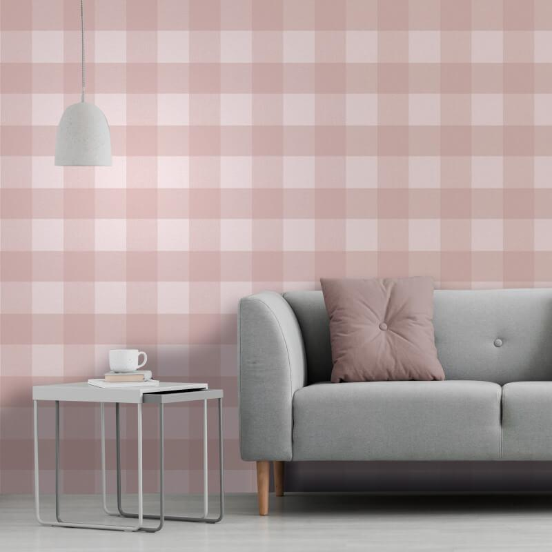 Checked-Tartan-Wallpaper-Textured-Glitter-Country-Check-Modern-Collection thumbnail 31