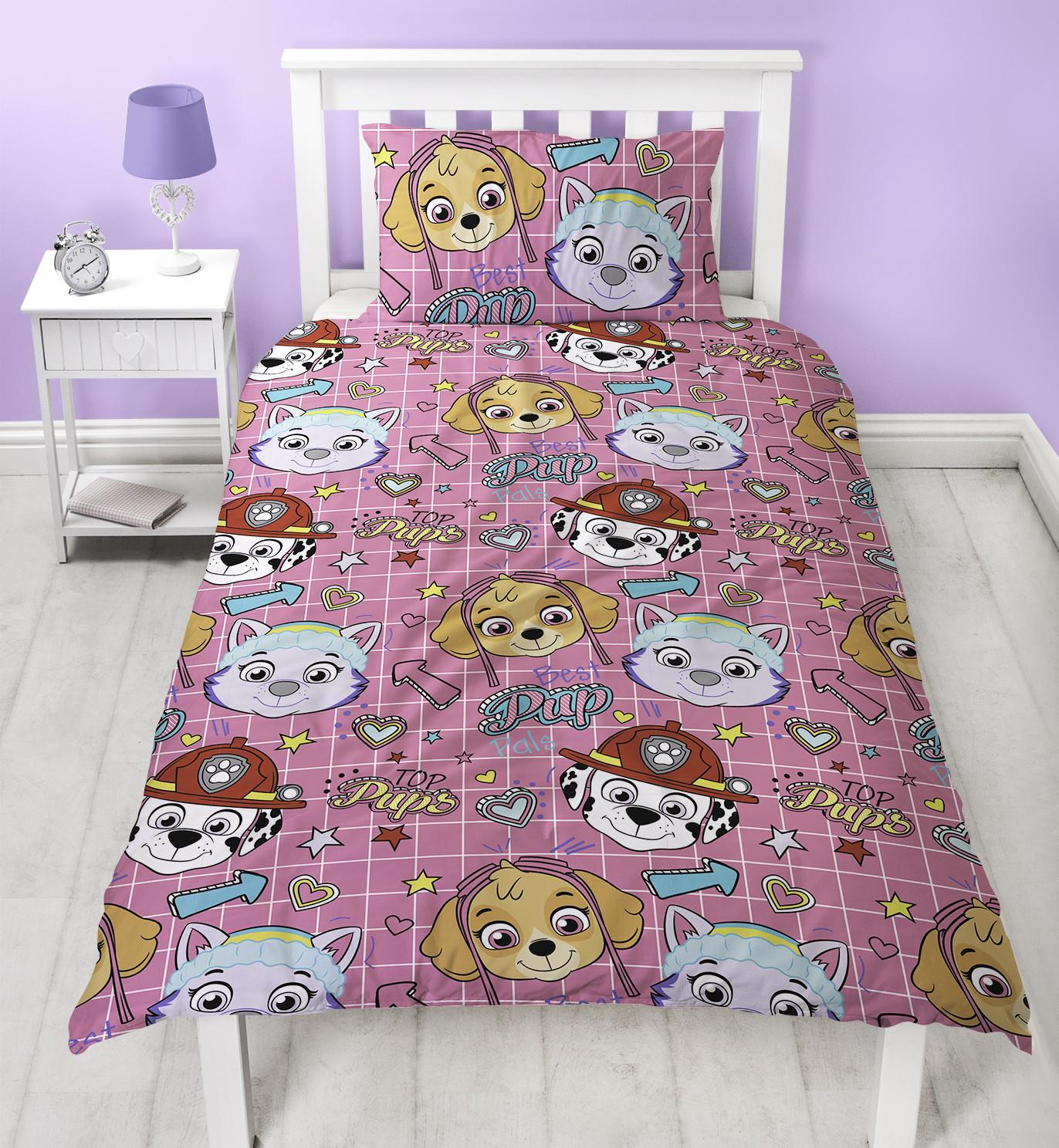 Official-Paw-Patrol-Licensed-Duvet-Covers-Single-Double-Chase-Skye-Marshall thumbnail 15