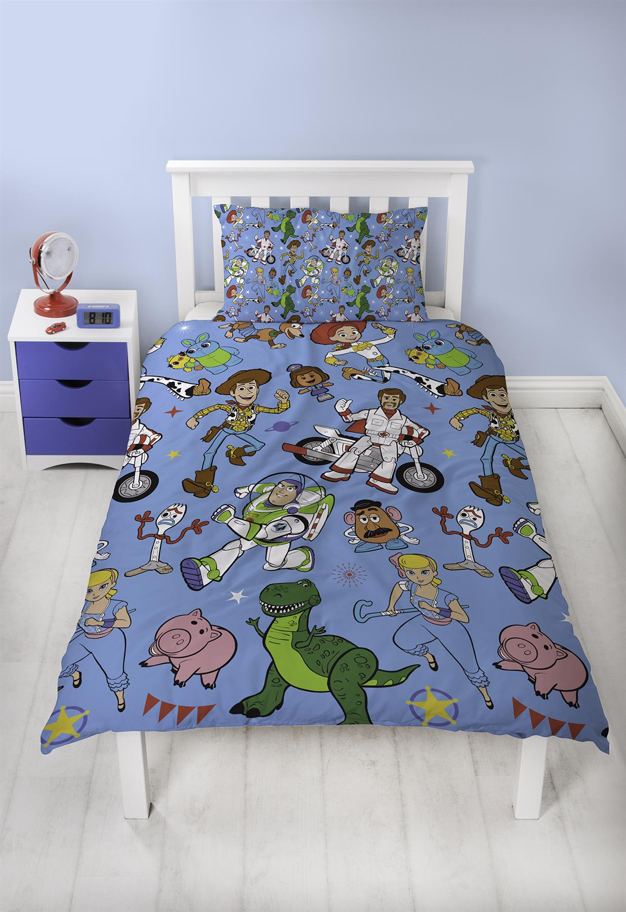 Official-Toy-Story-4-Duvet-Covers-Single-Double-Junior-Bedding-Buzz-Woody-Forky thumbnail 18