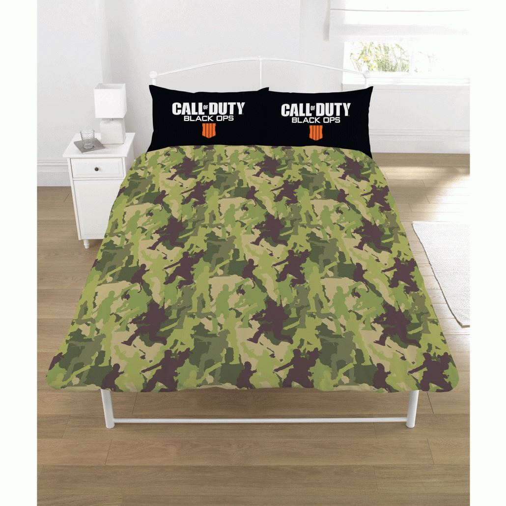 Call-of-Duty-Black-Ops-4-Single-Double-Reversible-Duvet-Cover-Bedding-Set
