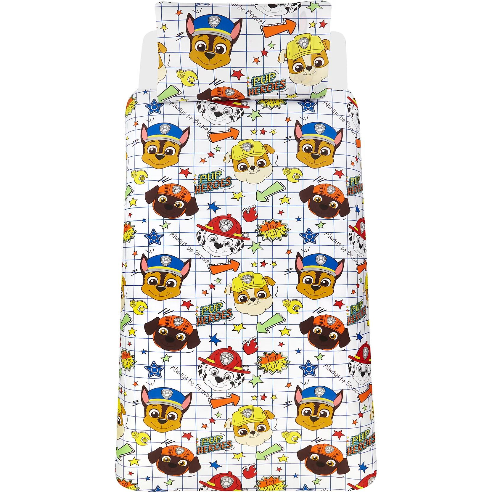 Official-Paw-Patrol-Licensed-Duvet-Covers-Single-Double-Chase-Skye-Marshall thumbnail 4