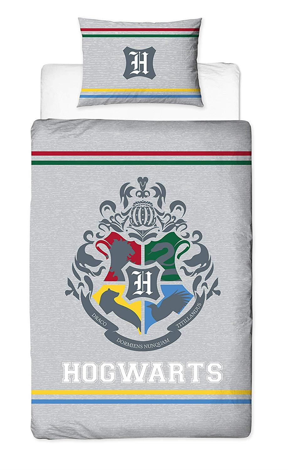 Official-Harry-Potter-Licensed-Duvet-Covers-Single-Double-Muggles-Hogwarts-Charm thumbnail 8
