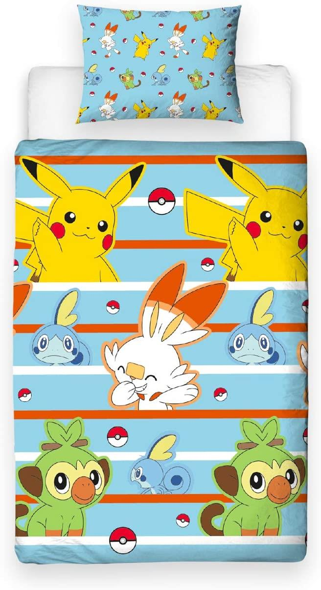 Official-Pokemon-Licensed-Duvet-Covers-Single-Double-Pikachu-Bedding-Gaming thumbnail 15