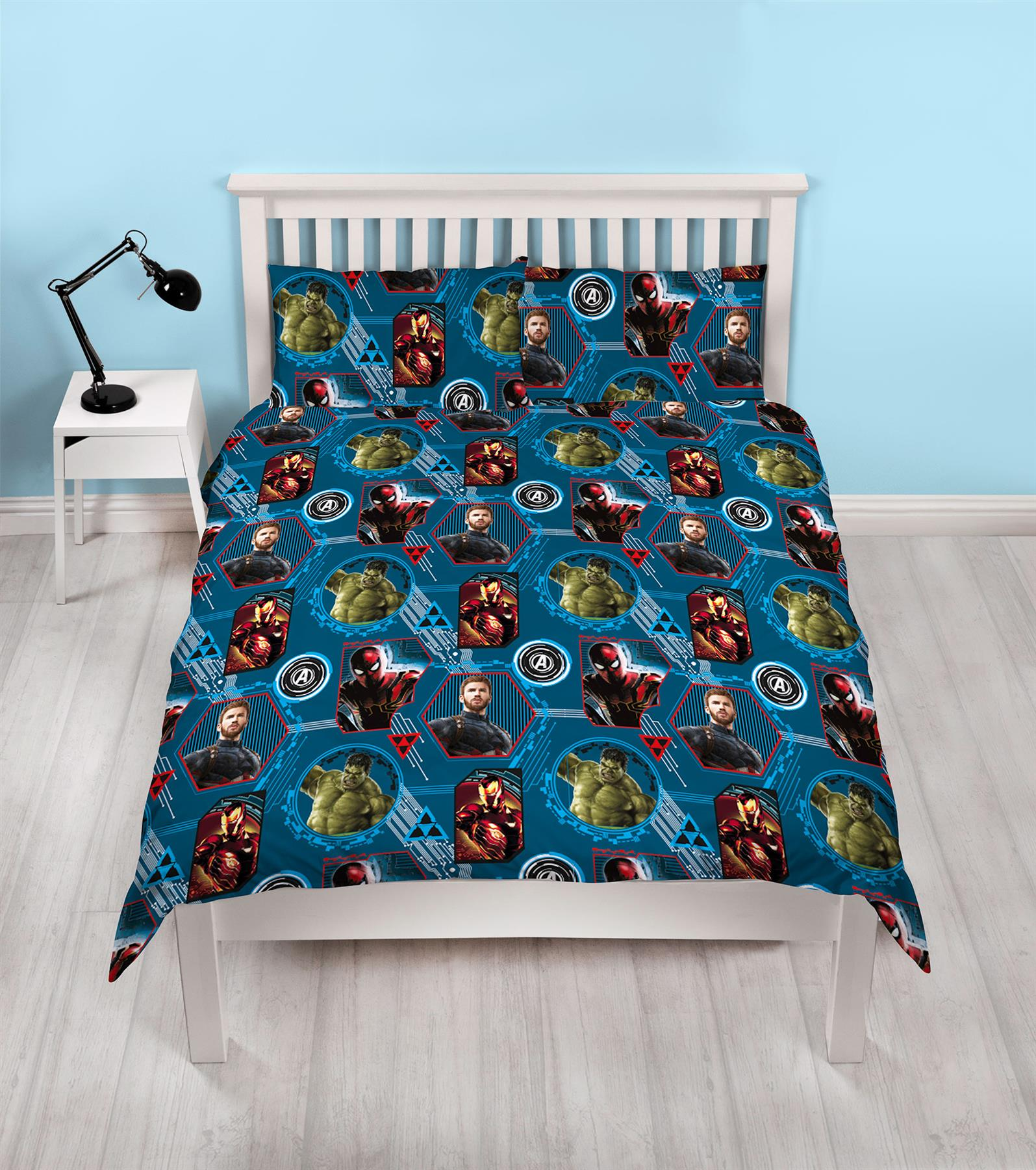 Official-Marvel-Comics-Avengers-Licensed-Duvet-Covers-Single-Double thumbnail 3