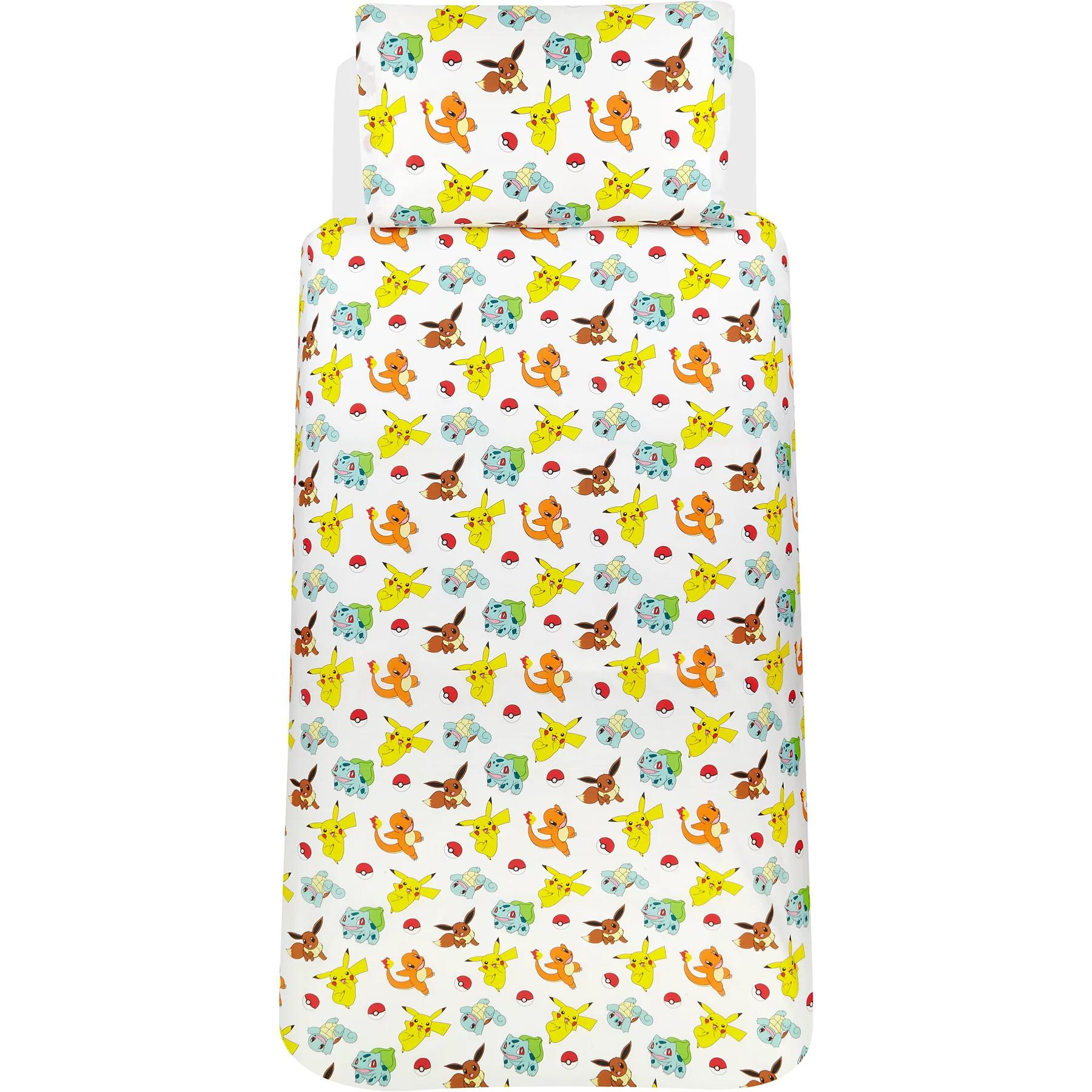 Official-Pokemon-Licensed-Duvet-Covers-Single-Double-Pikachu-Bedding-Gaming thumbnail 39