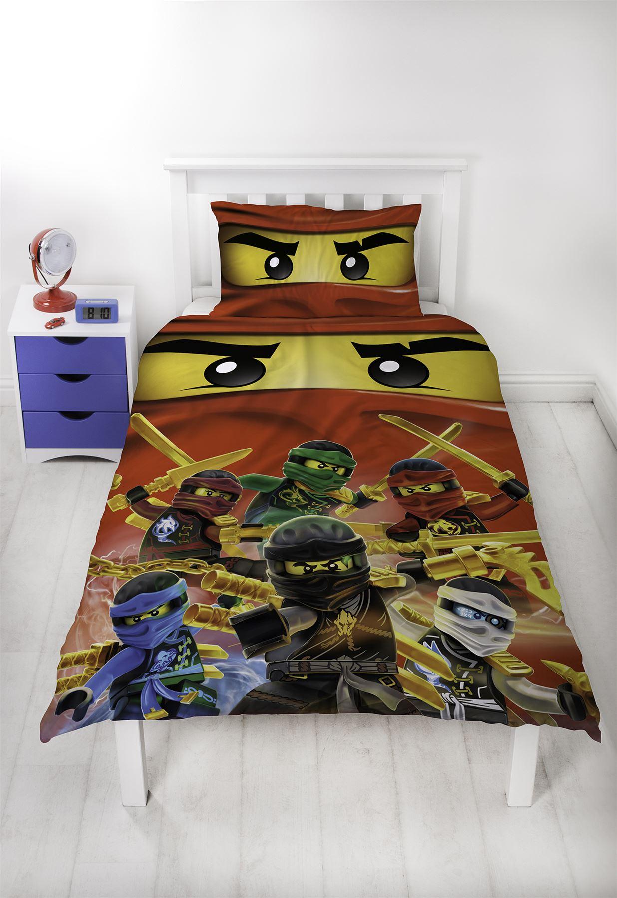 Official-Licensed-Lego-Duvet-Bedding-Ninjago-Batman-Star-Wars-Jurassic thumbnail 33
