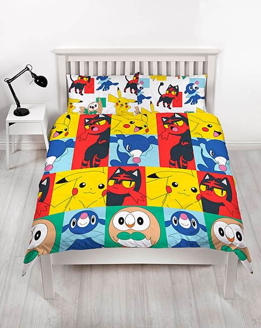 Official-Pokemon-Licensed-Duvet-Covers-Single-Double-Pikachu-Bedding-Gaming thumbnail 35