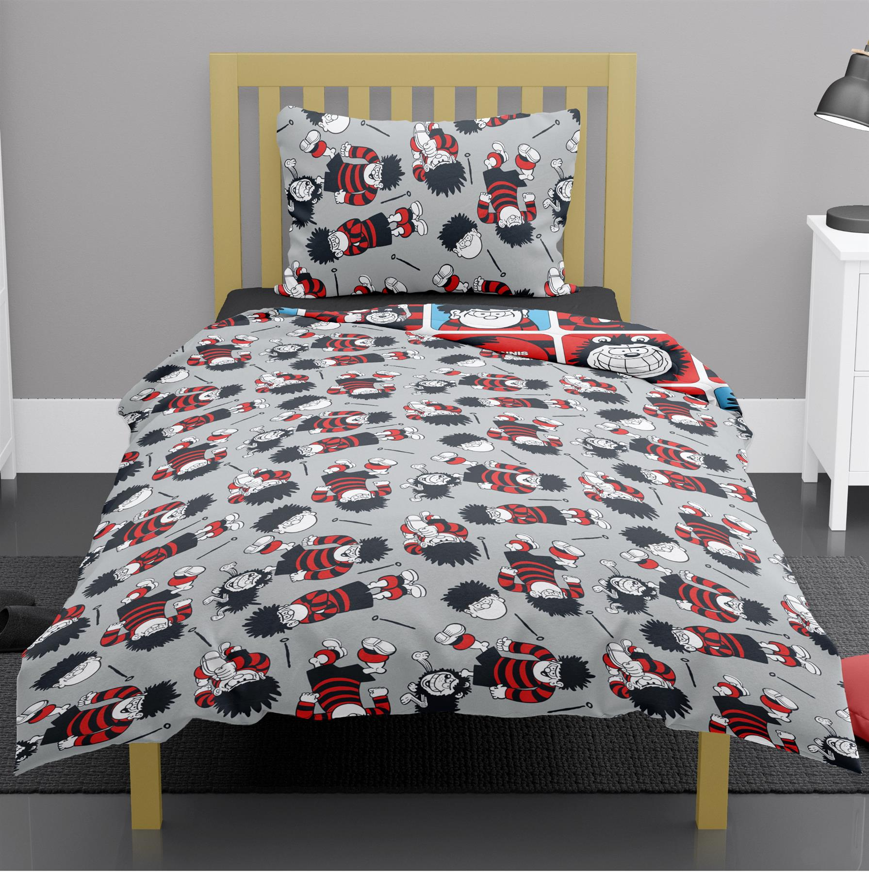 Beano-Dennis-amp-Gnasher-Duvet-Cover-Single-Double-King-Reversible-Bedding thumbnail 8