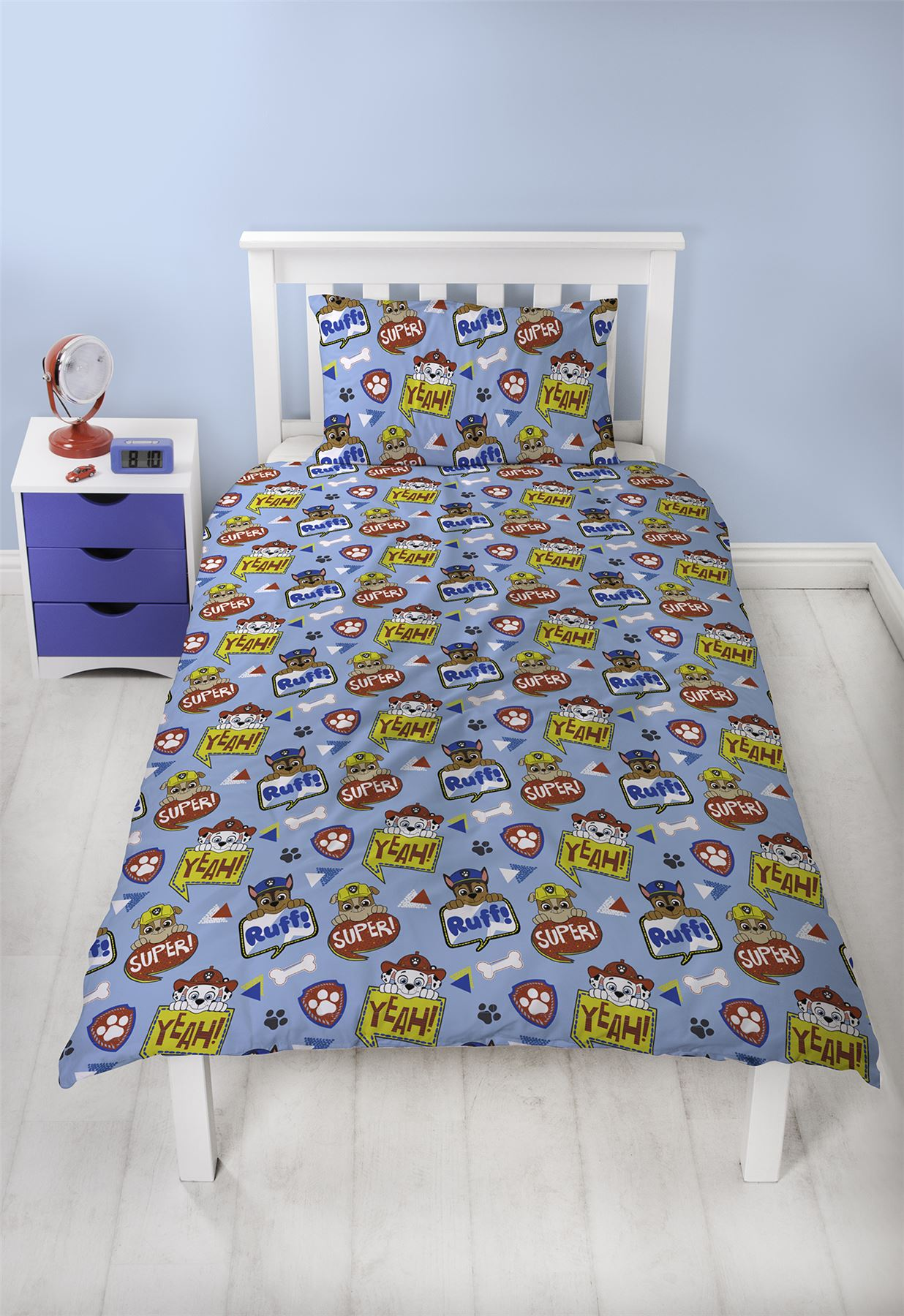 Official-Paw-Patrol-Licensed-Duvet-Covers-Single-Double-Chase-Skye-Marshall thumbnail 30