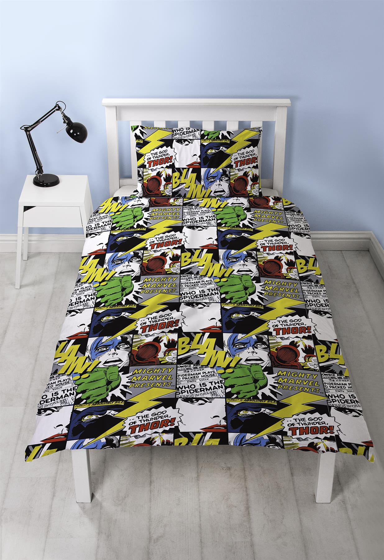 Official-Marvel-Comics-Avengers-Licensed-Duvet-Covers-Single-Double thumbnail 40