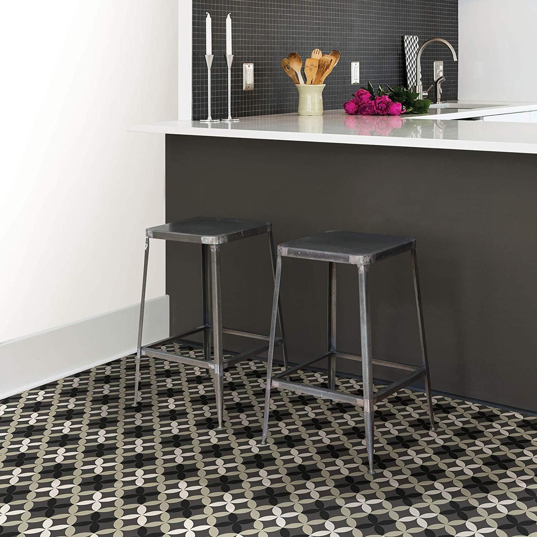 WallPops-Bathroom-Kitchen-Peel-amp-Stick-Floor-Tiles-Vinyl-10pk-12-034-x-12-034 thumbnail 5