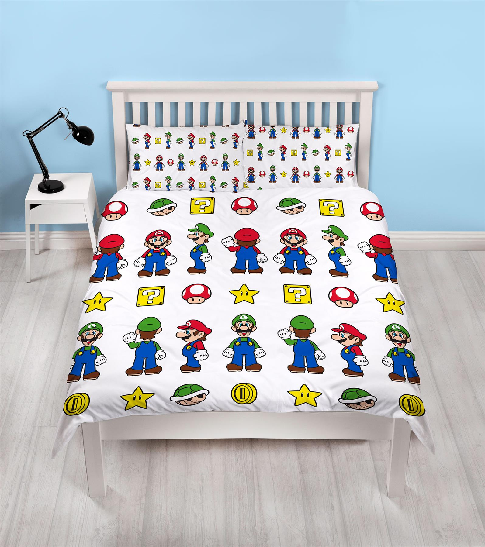Official-Nintendo-Super-Mario-Licensed-Duvet-Covers-Single-Double-Odyssey-Maker thumbnail 30