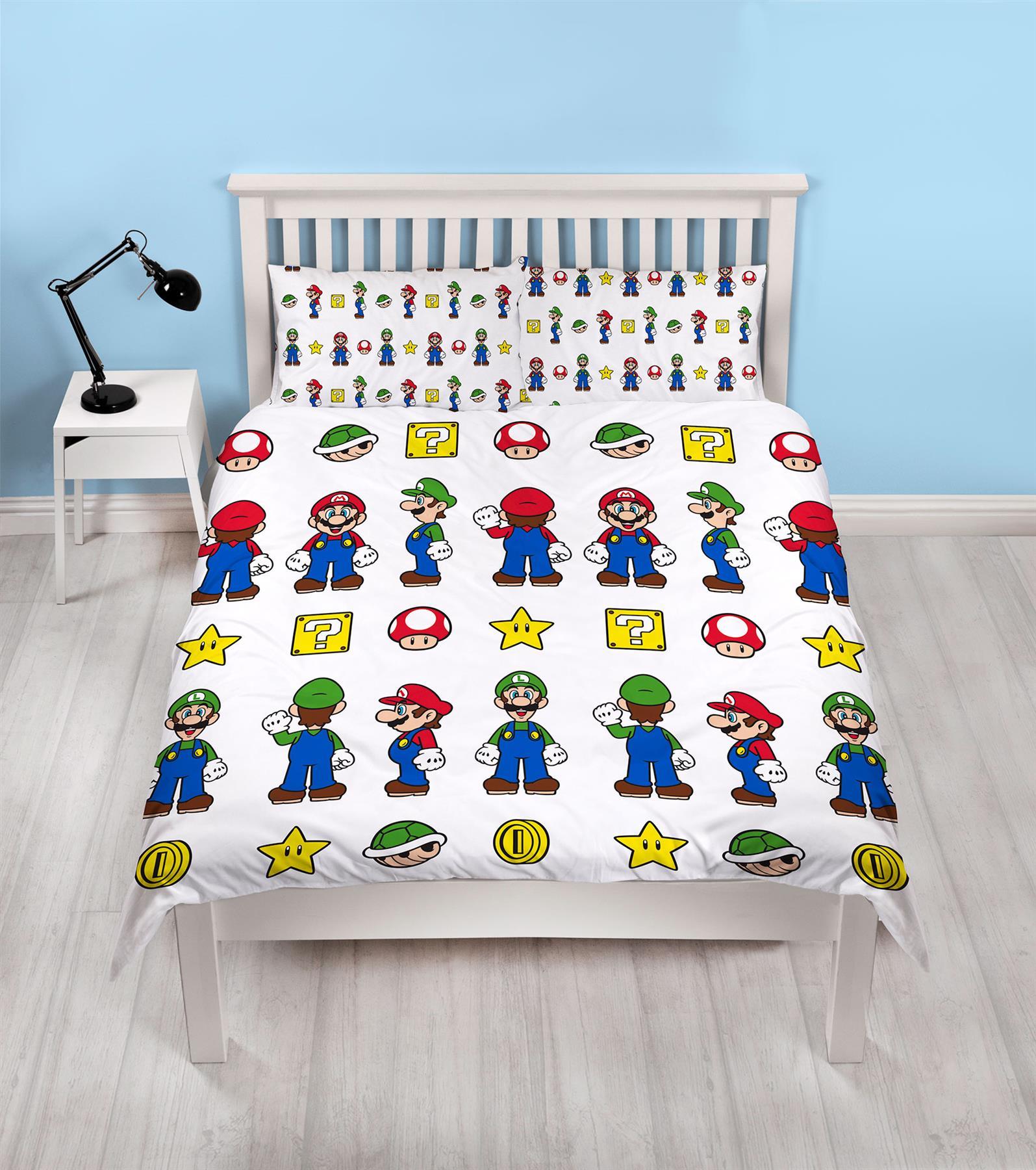 Official-Nintendo-Super-Mario-Licensed-Duvet-Covers-Single-Double-Odyssey-Maker thumbnail 32