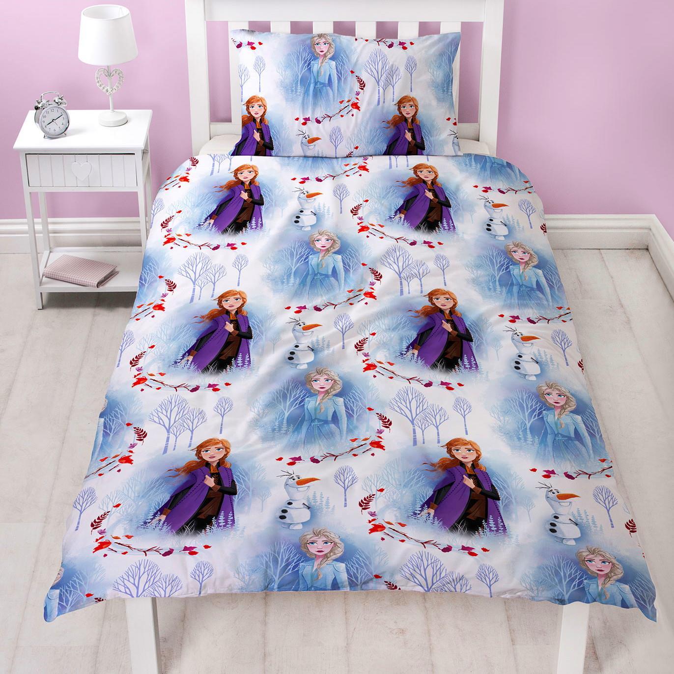 Official-Frozen-2-Duvet-Covers-Single-Double-Reversible-Bedding-Elsa-Anna-Olaf thumbnail 6