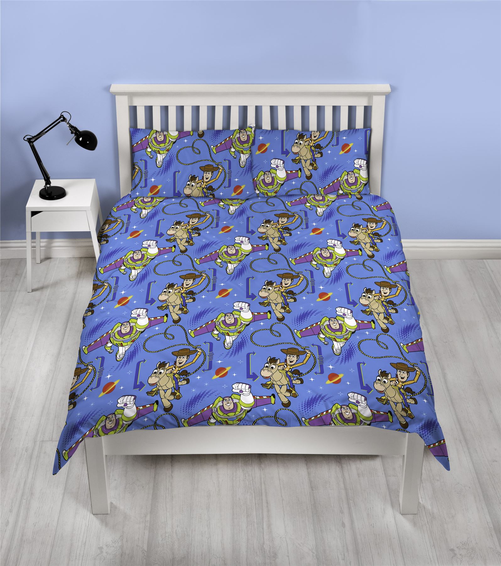 Toy-Story-Friends-Single-Double-Reversible-Duvet-Cover-Bedding-Official-Disney thumbnail 4