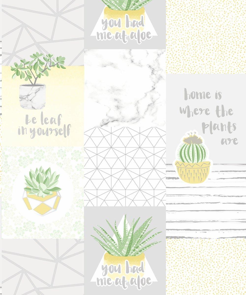 thumbnail 5 - Holden-Decor-You-Had-Me-At-Aloe-Metallic-Wallpaper-2-Colours