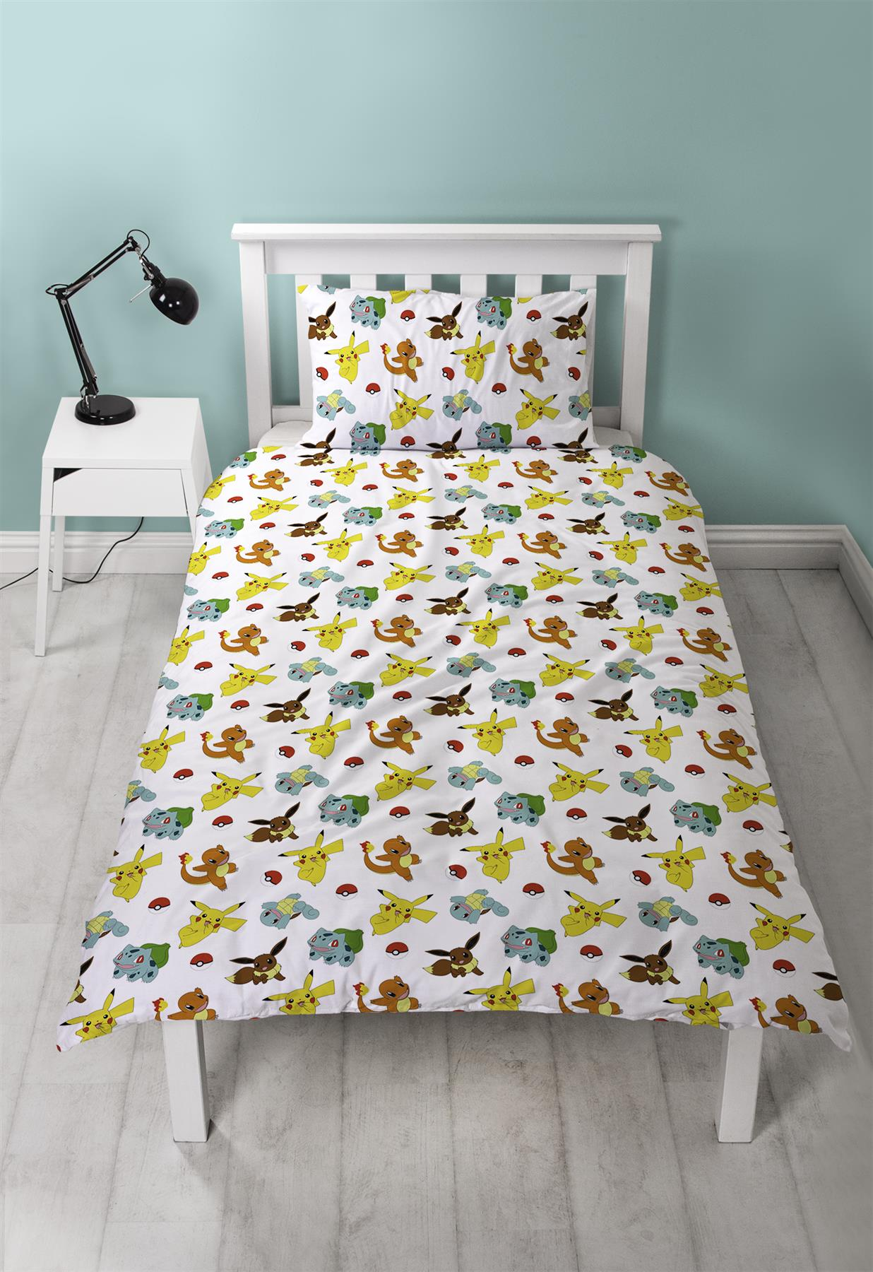 Official-Pokemon-Licensed-Duvet-Covers-Single-Double-Pikachu-Bedding-Gaming thumbnail 41