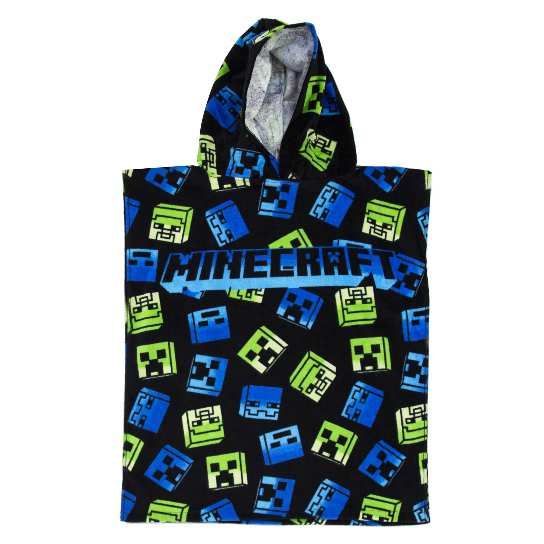 miniatura 10 - Minecraft Biancheria da letto Creeper PIUMONI Asciugamano Cuscino Coperta-venduta separatamente